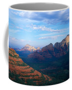 Panoramic View, Sedona, Arizona Coffee Mug