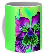 Pansy Power 84 Coffee Mug
