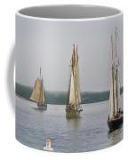 Parade Of Sails Coffee Mug
