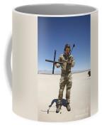 Pararescuemen Conducts A Communications Coffee Mug