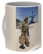 Pararescuemen Walks Away From A Hh-60g Coffee Mug
