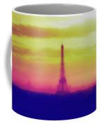 Paris Through The Haze Coffee Mug