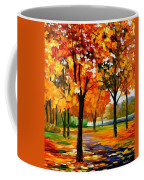 Park By The River Coffee Mug
