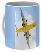 Passenger Jet Coming In For Landing  Coffee Mug