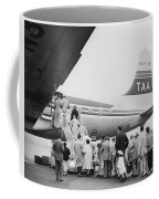 Passengers Boarding Airplane Coffee Mug