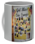 Patriotic Collage St. Helen Of The Cross Catholic Church Eloy Arizona 2004 Coffee Mug