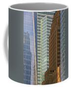 Peace Tower Abstract Coffee Mug