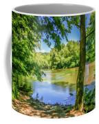 Peaceful On The River Coffee Mug