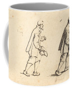 Peasant With Hat In Hand Coffee Mug