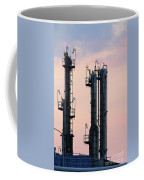 Petrochemical Plant Industry Zone Twilight Coffee Mug