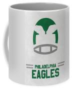 Philadelphia Eagles Vintage Art Coffee Mug