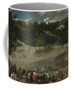 Philip Iv Hunting Wild Boar La Tela Real Coffee Mug