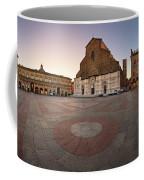 Piazza Maggiore And San Petronio Basilica In The Morning, Bologna, Emilia-romanga, Italy Coffee Mug