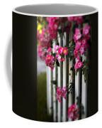 Picket Fence Roses Coffee Mug
