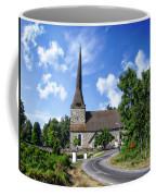 Picturesque Rural Church Coffee Mug