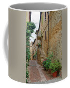 Pienza Street Coffee Mug