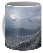 Pikes Peak In Snow Coffee Mug