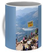 Pikes Peak Marathon And Ascent Coffee Mug