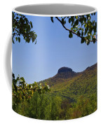Pilot Mountain In Spring Green Coffee Mug
