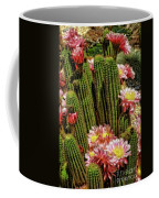 Pink Cactus Flowers Coffee Mug