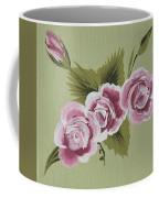 Pink Miniature Roses Coffee Mug