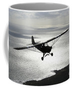Piper L-4 Cub In Us Army D-day Colors Coffee Mug