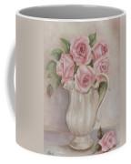 Pitcher Of Roses Coffee Mug