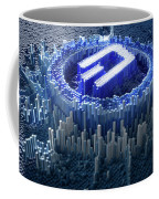 Pixel Dash Concept Coffee Mug