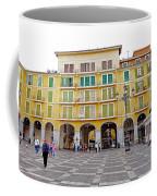 Placa Mayor In Palma Majorca Spain Coffee Mug