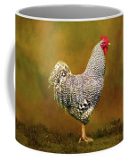 Plymouth Rock Rooster Coffee Mug