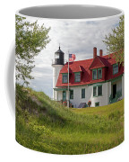 Point Betsie Lighthouse Coffee Mug by Fran Riley