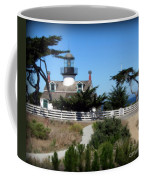 Point Pinos Lighthouse In Pacific Grove, California Coffee Mug