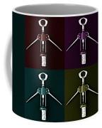 Pop Art Style Corkscrews. Coffee Mug