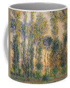 Poplars At Giverny, Sunrise Coffee Mug