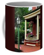 Porch With Hanging Plants Coffee Mug