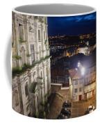 Porto By Night In Portugal Coffee Mug