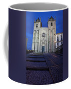 Porto Cathedral By Night In Portugal Coffee Mug