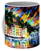 Portofino Harbor - Italy Coffee Mug