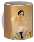 Portrait Of A Lady Boris Grigoriev Coffee Mug