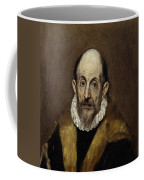 Portrait Of An Old Man Coffee Mug