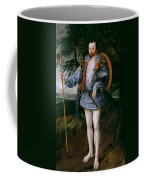Portrait Of Captain Thomas Lee Coffee Mug