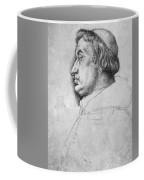 Portrait Of Cardinal Albrecht Of Brandenburg  Coffee Mug