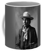 Portrait Of Cree Indian Warrior  Coffee Mug