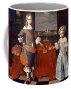 Portrait Of Evert En Reint Lewe Coffee Mug
