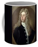 Portrait Of Francis 2nd Earl Of Godolphin 1678-1766 Sir Godfrey Kneller Coffee Mug