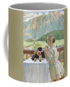 Portrait Of Irina Kustodieva Coffee Mug