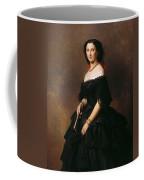 Portrait Of Princess Bariatinskaya Franz Xavier Winterhalter Coffee Mug