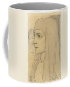 Portrait Of Treesje Westermann, Mother Teresa Huf Of Bethany, Jan Toorop, 1927 Coffee Mug