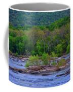 Potomac River Near Harpers Ferry Coffee Mug