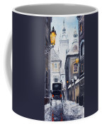 Prague Old Street 02 Coffee Mug